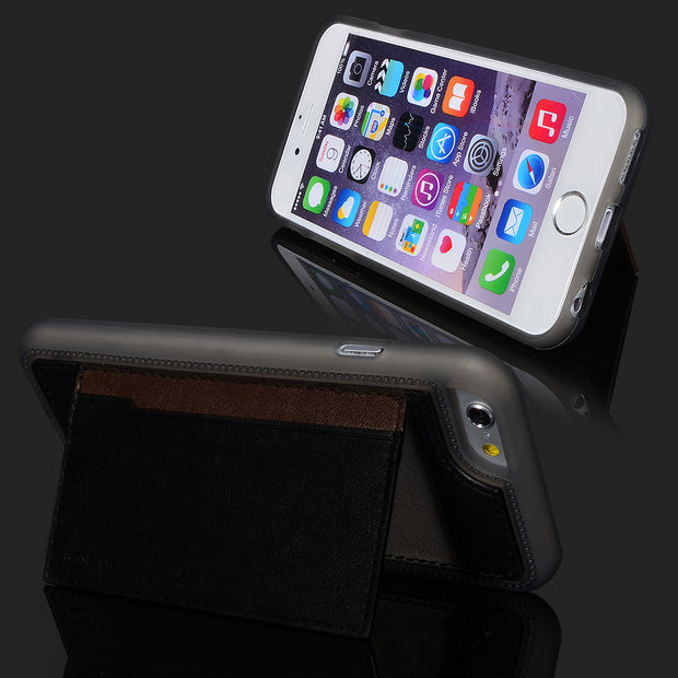 "S-CH Wallet Card Holder Stand Pu Leather Fitted Case Skin For Apple IPhone 6 4.7"" 5 Color"