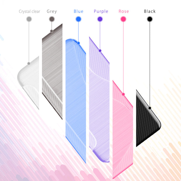 SLEO Soft Case For Samsung Galaxy Note 8 TPU Silicon Slim Protect Skin Rubber Ultra Thin Phone Cover For Galaxy Note 8