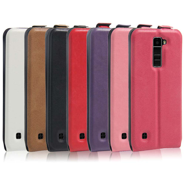 SUBIN Leather Mobile Phone Case For LG K3 K4 K7 K8 K10 Vertical Flip Phone Case Card Cover For LG G5 H868 / X Power / X5