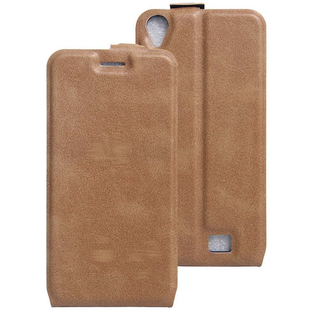 SUBIN Leather Phone Case For Homtom HT16 Vertical Flip Phone Card Phone Bag Back Cover For Homtom HT17