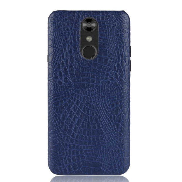 "SUBIN New Case For LG Q7 Q 7 5.5"" Luxury Crocodile Skin PU Leather Back Cover Protective Phone Case For LGQ7"
