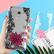 Sexy Lace Flower Cover Case For Xiaomi Redmi 4 4A 4X 3S 3 S Note 3 4 4S 5A Pro Prime 4X Mi A1 Mi 5X Coque Fundas Capa