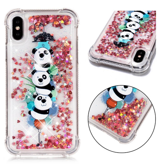 Shockproof Picture Glitter Floating Quicksand Case For IPhone 5s 6G 6s 381eaf0074