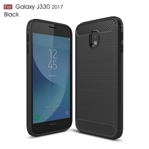 Shockproof Phone Case Cover For Samsung Galaxy J3 2017 J3 Pro 2017 J330 J330F J330G NOT US Slim Armor Case Back Cover Etui>