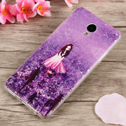 Silicone Cases Meizu M5 M3 M2 Note Cover 3D Cat Fruit Landscape Ultra Thin Soft Tpu Phone Case For Meizu Mx5 Mx6 Pro5 Back Cover