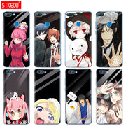 Silicone Cover Phone Case For Huawei Honor 10 V10 3c 4C 5c 5x 4A 6A 6C Pro 6X 7X 6 7 8 9 LITE Japanese Anime Touch Glass Kawaii