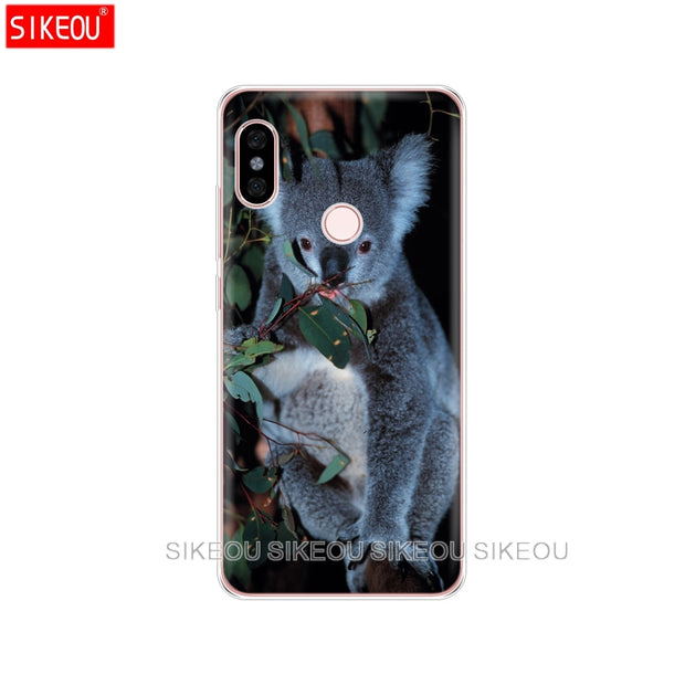 Silicone Cover Phone Case For Xiaomi Redmi 5 4 1 1s 2 3 3s Pro PLUS Redmi Note 4 4X 4A 5A Koala Portrait