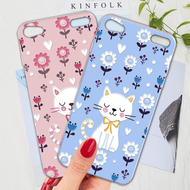 Silicone Phone Case For Apple Ipod Touch 6 Case Cartoon Cute Animal Fr Nox Cases
