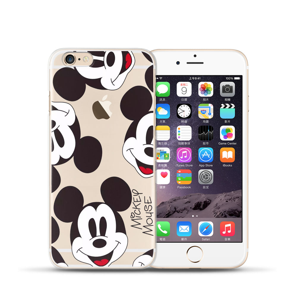 Silicone TPU cover for coque iPhone 6S case 6 6S Mickey soft new arrivals original for 240ed7b9 fd83 4349 92d5 7798afab9745