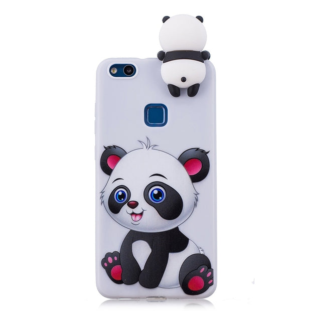 Soft TPU Case For Coque Huawei P10 Lite Case 3D Silicone Candy ...