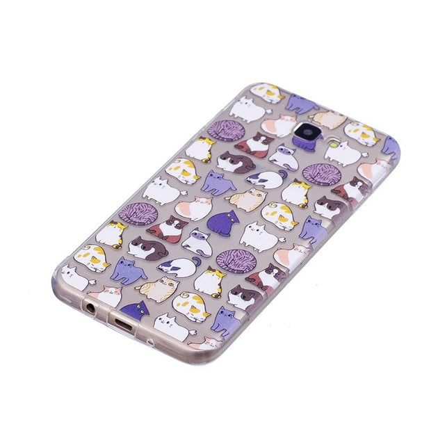 Soft TPU Case For Samsung Galaxy On5(2016) Transparent Soft Silicone Cover Phone Cases For Samsung Galaxy J5 Prime G570F