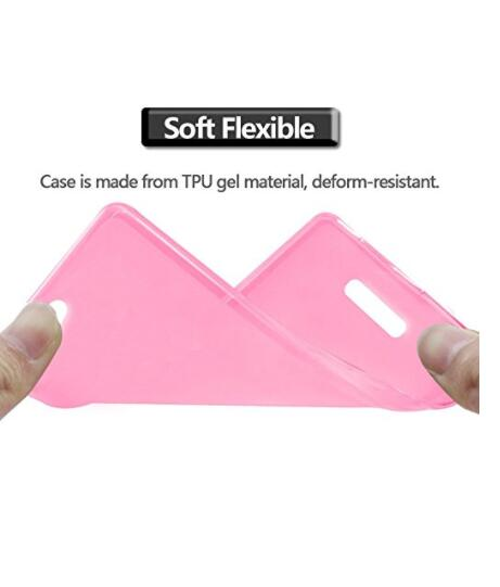 Soft TPU Case Pudding Soft Silicone Mobile Phone Back Case Mobile Phone Cases Mobile Case For Highscreen Power Rage 5.0""