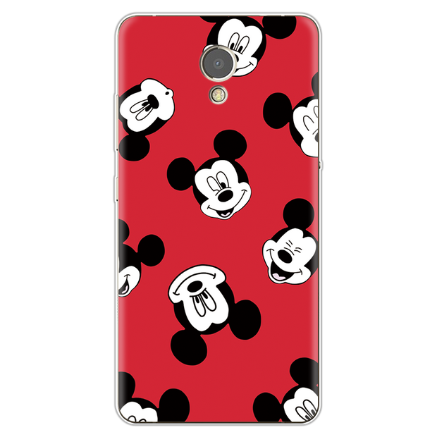 Soft TPU Cases For Lenovo Vibe P2 Case Minnie Mickey Cartoon Couple Gifts FOR Fundas Lenovo P2 Case Full Protection Transparent