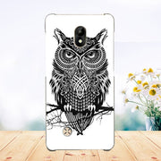 Soft Tpu Tiger Owl Rose Eiffel Tower Painted Phone Case For Dexp Ixion Es550 Soul 3 Pro Cover Fundas Silicone Phone Sheer