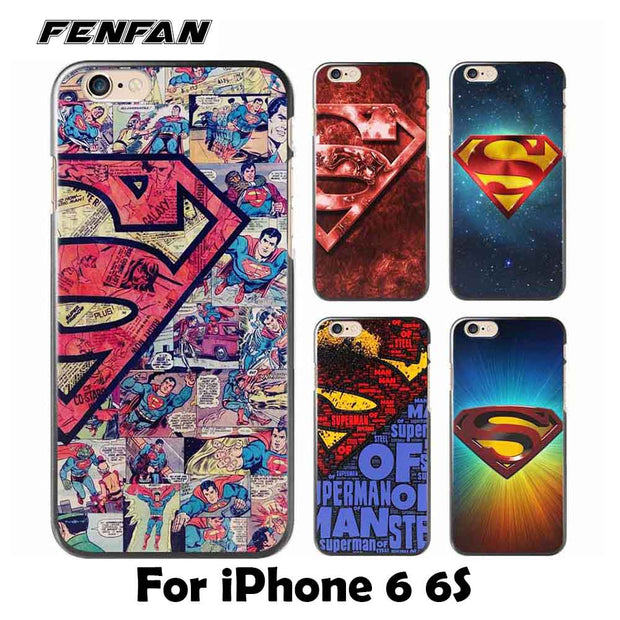 Soft silicone TPU cover for coque iPhone 6S case Superman for iPhone 6 case new arrivals 620x