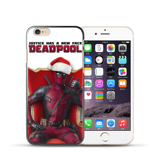 Soft Silicone TPU For Coque IPhone 5S Case DEADPOOL Cover For ...