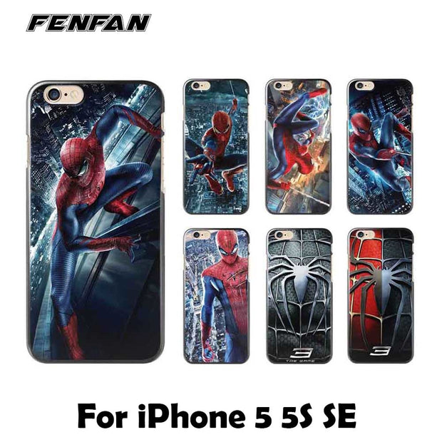 cover iphone 5c spiderman