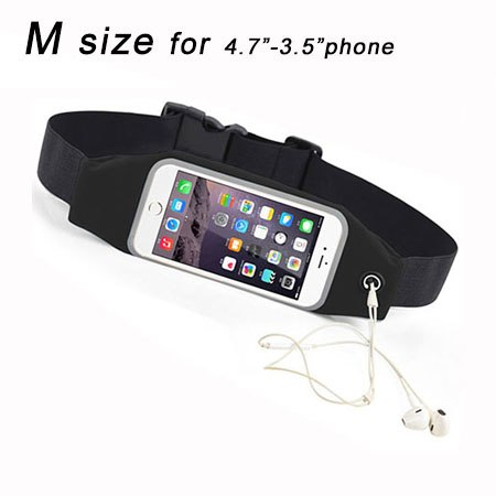 Waterproof black m