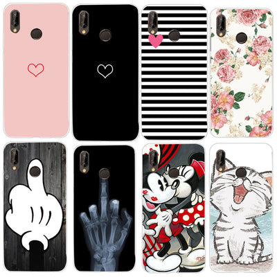 Stitch Soft Case For Huawei P20 Pro P Smart Mate 10 20 P8 P10 P9 Lite Mini 2017 Honor 10 9 Lite Cover For Huawei P20 Lite Case
