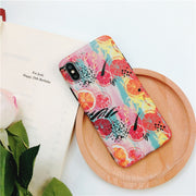 Summer Fruit Grapefruit Watercolor Painting Soft Phone Case For Iphone 6/6p/6s/6sp/7/7p/8/8p/X/XS Soft TPU Case Coque Fundas