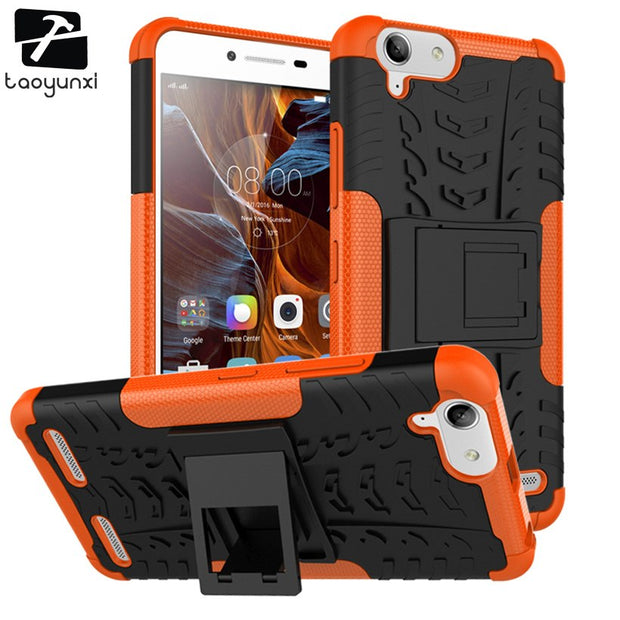 TAOYUNXI Case For Lenovo Vibe K5 Covers Cases Hybrid TPU PC Back K5 Plus Lemon 3 A6020 A6020a46 A6020a40 Cover Housing