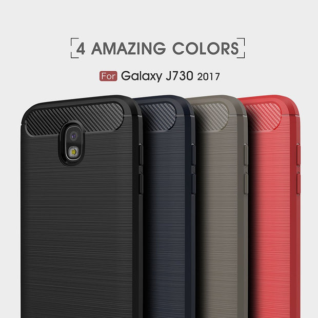 TENENELE Phone Case 5.5''For Samsung Galaxy J7 Pro 2017 Soft Silicone Plastic Cover 360 Full Anti-choc Cases J730 For Samsung