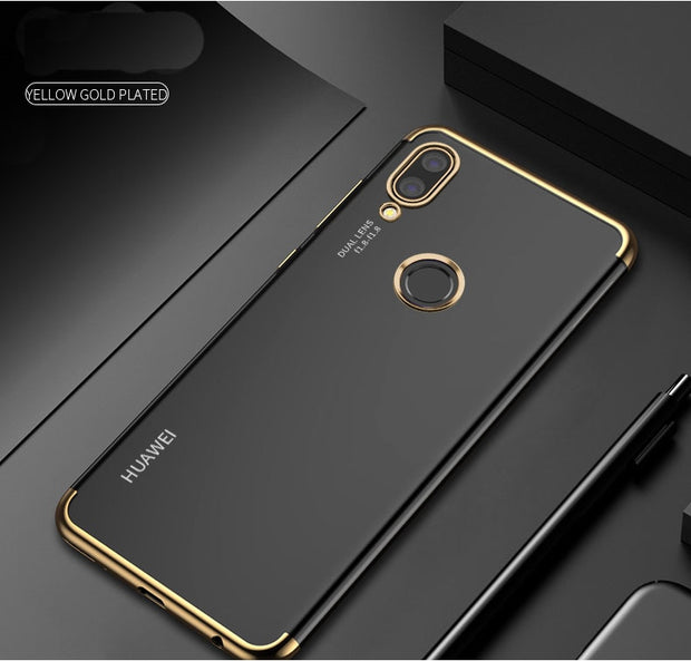 TODKAI Phone Case For Huawei P20 Case For Huawei P20 Lite P20 Pro Case Silicone Plating TPU Cover For Huawei P20 Nova 3e