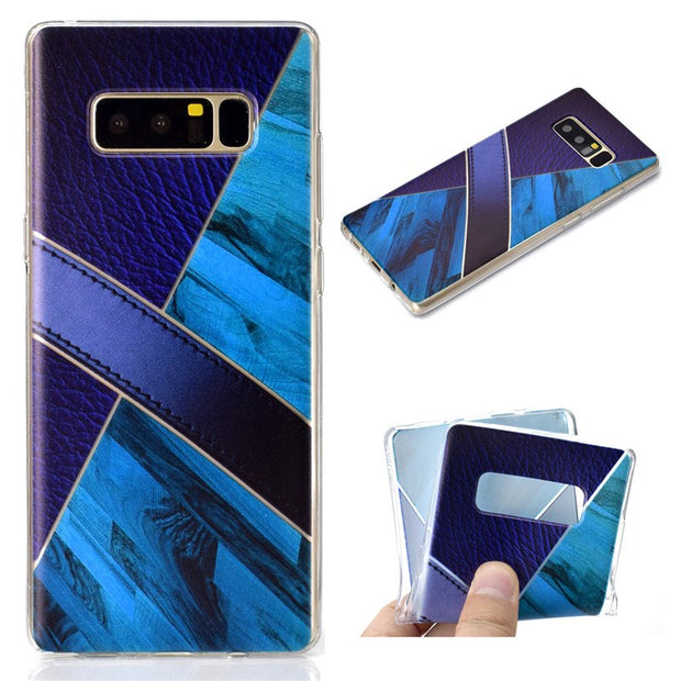 "TPU Soft Case For Samsung Galaxy Note 8 6.3"" Transparent Printing Drawing Silicone Cases Cover For Samsung Galaxy Note8"