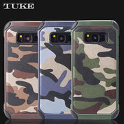 TUKE Anti-knock Hybrid 2 In 1 PC + TPU Combo Armor Camouflage Note5 Phone Cover Case For Samsung Galaxy Note 5 N9200 N920 N920A