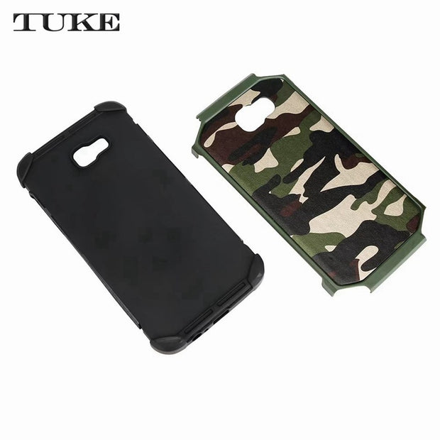 TUKE Camouflage Pattern For Cover Samsung Galaxy A3 2016 A3100 Case PC Soft Case For Samsung A 3 2016 A310 SM-A310F A310F Bag