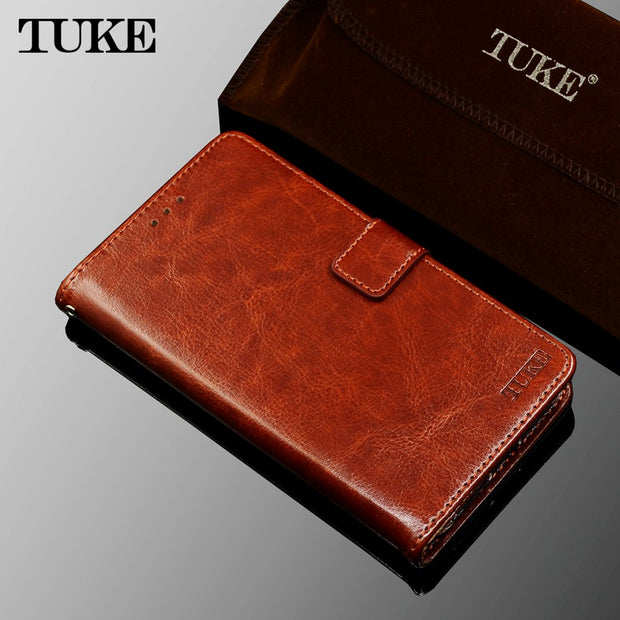 TUKE For Huawei Honor 7 Lite Case Cover Leather Wallet Coque For Huawei Honor 5C Silicon Case For Huawei GR5 Mini GT3 Funda Flip