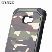 TUKE Mobile Case For Samsung Galaxy A7 2017 A7200 SM-A720F PC TPU Hybrid Back Cellphone Case For Samsung A 7 2017 A720 A720F