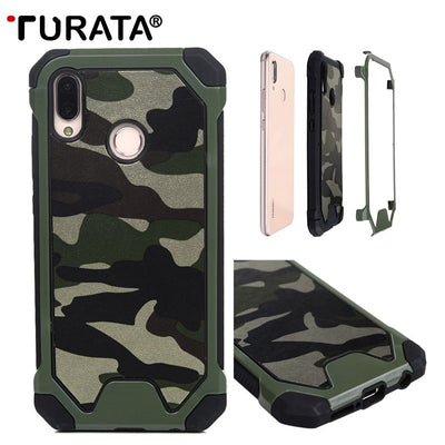 TURATA Army Camo Camouflage Pattern Case For Huawei Mate 20 Lite/P20 Lite Cover Protective Phone Cases For Huawei Mate 20 Lite