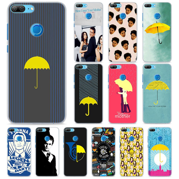 TV How I Met Your Mother Phone Cases For Huawei Honor 8 9 10 Lite Hard PC  Case Cover For Honor 4C 6C Pro 6x 7x 8x 7s Case