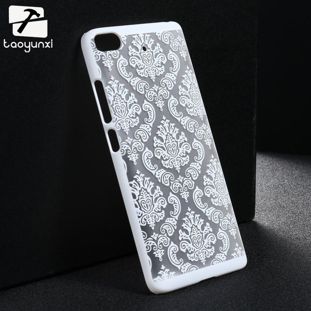 Taoyunxi Phone Case For Xiaomi Mi5s Xiaomi Mi 5S 5.15 Inch Damask Vintage Flower PlasticBag Shell For Xiaomi Mi5s Cover Cases