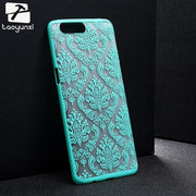 Taoyunxi Plastic Phone Cover Case For Oneplus 5 One Plus 5 A5000 5.5 INCH Bag Shell Retro Floral Case Ultra Thin Slim Covers