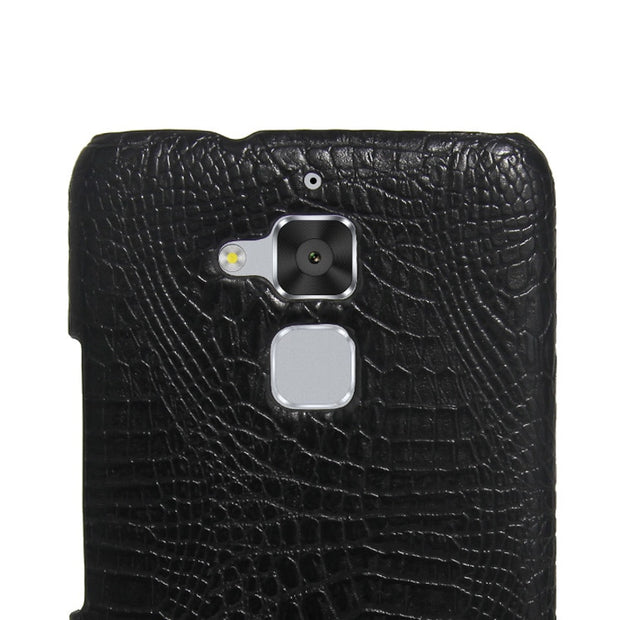 TaryTan Crocodile Phone Cases For Asus Zenfone 3 Max ZC520TL X008D Zenfone3 Max Pegasus 3 Horse 3 X008 Covers Paste Leather Bags