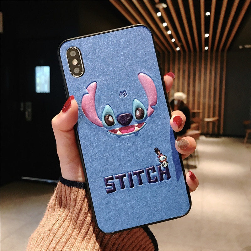 coque iphone 7 plus stitch 3d