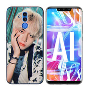 Transparent Soft Silicone Phone Case BTS Bangtan Boys Coque For Huawei Mate Honor 20 10 9 Pro Lite 7C Cover