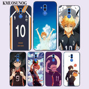 Transparent Soft Silicone Phone Case Haikyuu Render Shouyou Hinata For Huawei Mate Honor 20 10 9 Pro Lite 7C Cover