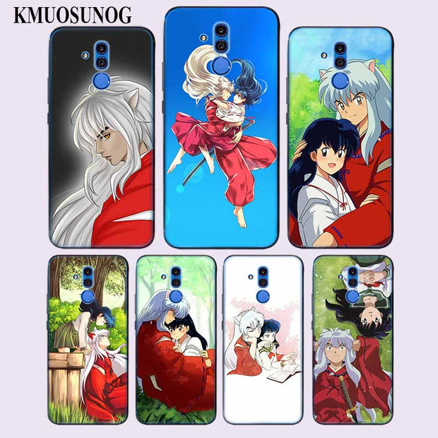 super popular b2332 53711 Transparent Soft Silicone Phone Case Inuyasha Japan Anime Kagome For Huawei  Mate Honor 20 10 9 Pro Lite 7C Cover