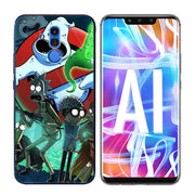 Transparent Soft Silicone Phone Case Rick And Morty Cartoon For Huawei Mate Honor 20 10 9 Pro Lite 7C Cover