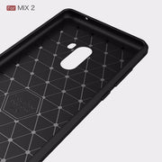 UVR For Xiaomi Mix 2 Case Environmental Carbon Fiber TPU Case For Xiaomi Mi MiX2 Soft Back Cover For Xiaomi MIX2 5.99'' Coque
