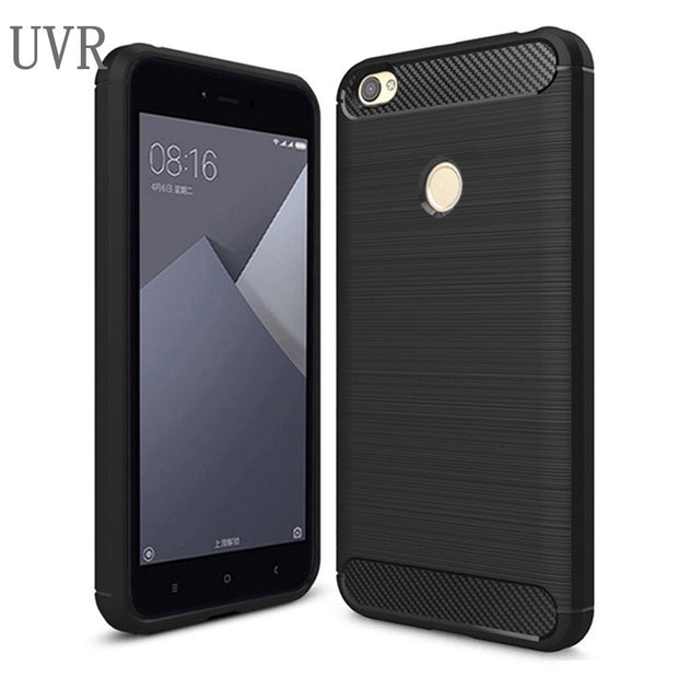"UVR For Xiaomi Redmi Note 5A Case Soft Carbon Fiber Coque 5.5"" Mobile Phone Bags Cases For Xiaomi Redmi Note 5A Pro Prime"