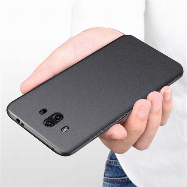 Ultra Slim Frosted Scrub Sandstone Matte Phone Case For Huawei Mate 10 Lite Hard PC Shockproof Cover For Huawei Mate 9 10 Pro