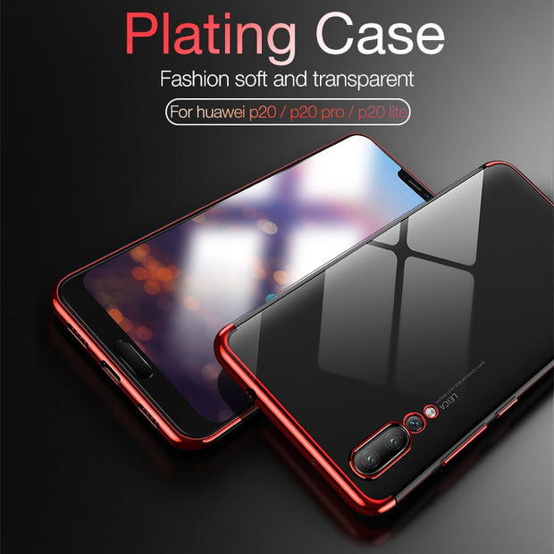 Ultra Soft Case For Huawei P9 Lite P10 P8 Lite P20 Lite Back Cover TPU Silicon Coque For Huawei P9 Lite P20 Pro Transparent Case