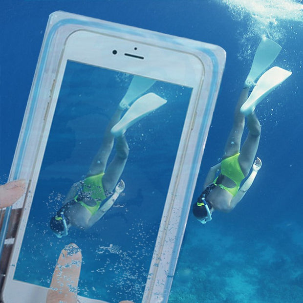 Universal Waterproof Case Mobile Swimming Dry Bag For Iphone 7 6 6s 6s 7 Plus 5 5s 5c 4s SE Underwater Pouch Diving Phone Cover