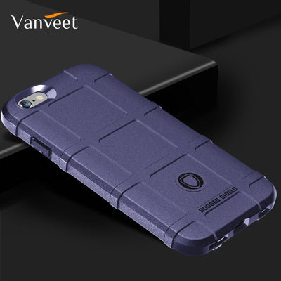 Vanveet Case For IPhone 8 X 7 6 6S 66S Case Silicone For IPhone 6 6S 7 8 Plus Case Shield For IPhone 7G 6G Cover A1660 A1661 Bag