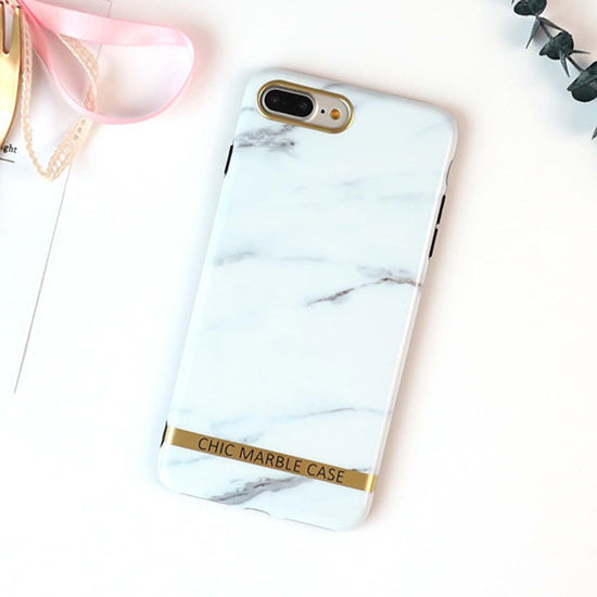 quality design 49908 19f8d WOTP Luxury Gold Bar Granite Marble Stone Soft IMD Phone Case For Iphone X  Cute Letter Print Back Cover For IPhone 6 6S 7 8 Plus