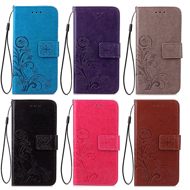 Wallet Magnet Flip Cover Leather Case For Fundas LG K3 2017 Case For Mobile LG K3 2017 Phone Cases Coque 3D Pattern Stand Bags